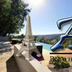Ницца, вилла калифорнийского стиля 260м² втихом закрытом секторе.