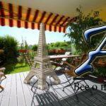 Ницца, 3-комнатная квартира стеррасой, садом игаражом, врезиденции сбассейном