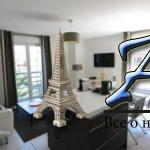 Жуан ле Пен— Трёхкомнатная квартира— Новая резиденция