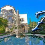 Вилла встиле «бель эпок» свидом наморе, бассейном, гаражом иотдельными апартаментами, в800 метрах отморя, Канны, Франция