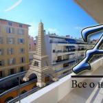 3-комнатная квартира сремонтом итеррасой, впаре метров отНебережной Ниццы