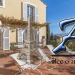 Элегантные двухуровневые апартаменты свидом наморе, собственным садом, террасой ипарковкой вжилом комплексе сбассейном, Ницца, Франция