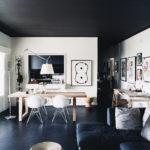 Домашний интерьер: черный снова в моде